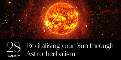 Revitalising your Sun through Astro-herbalism tickets