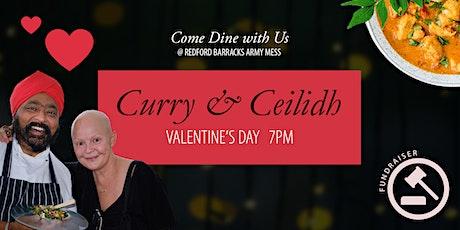 Valentine's Curry & Ceilidh tickets