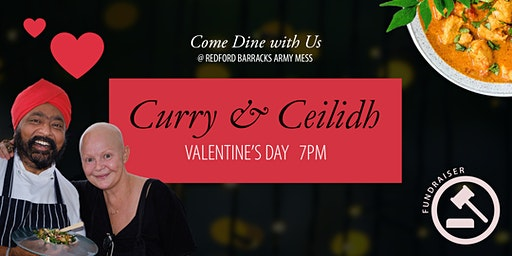 Valentine's Curry & Ceilidh