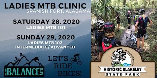 Ladies MTB 101 at Blakeley Park Alabama
