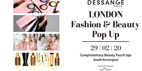 VIP Fashion & Beauty Pop Up at Dessange London tickets