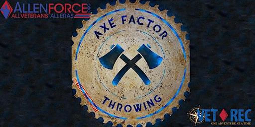 Vet Rec Axe Trowing!