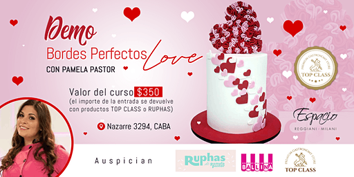 Demo Bordes Perfectos Love con PAMELA PASTOR