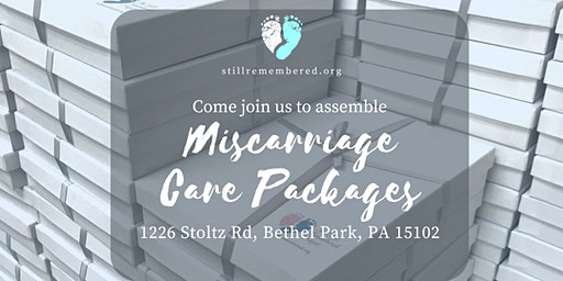 January Miscarriage Care Package Assembly Event