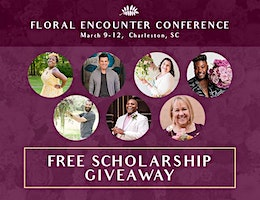 The Floral Encounter Conference 2020 Jet Fresh Scholarship Giveaway