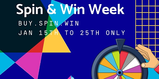 Spin & Win Week |Buy, Spin, and Win | No Payment for 90 days | 0% Financing