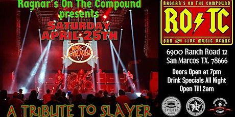 War Ensemble:Slayer Tribute/Stitched Up/Warhead Wrex/Dancyr $10 tickets