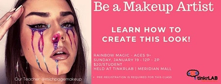 Be A Makeup Artist - Rainbow Magic