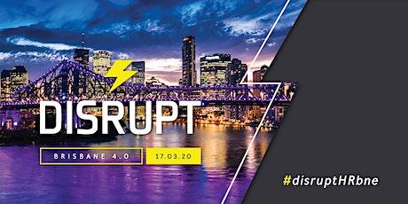 DisruptHR Brisbane 4.0 tickets