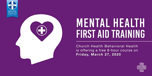 Mental Health First Aid Training: March 2020