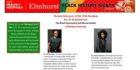 The Black Community and Mental Health: A Dialogue tickets