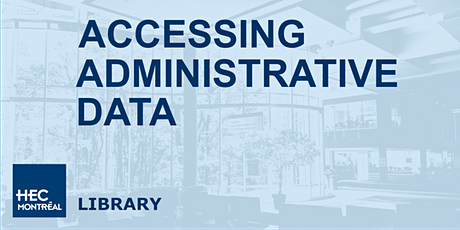 Accessing Administrative Data billets