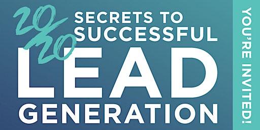 "Albany, NY ""Secrets of Successful Lead Gen"", Feb. 3rd"