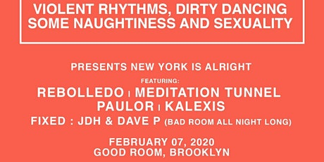 Rated R: Rebolledo, Paulor, Meditation Tunnel, Kalexis, JDH & Dave P tickets