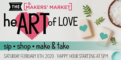 The Art of Love - Sip Shop Make Take tickets