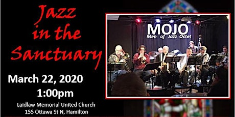Jazz in the Sanctuary with MOJO (Men of Jazz Octet) tickets
