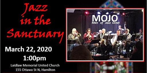 Jazz in the Sanctuary with MOJO (Men of Jazz Octet)