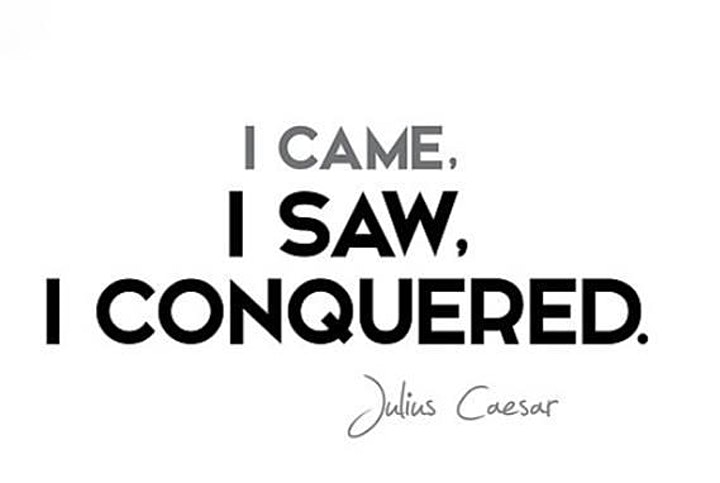 I Came, I Saw, I Conquered  2020 image
