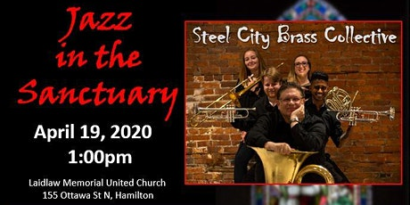 Jazz in the Sanctuary with the Steel City Brass Collective tickets