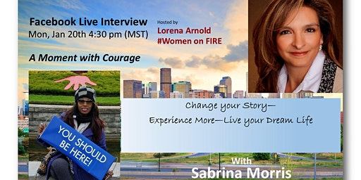 A Moment with Courage - an Interview with Sabrina Morris