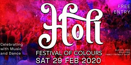 Brisbane Holi - Festival of Colours - QPS Recruiting Attending