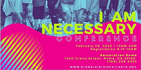 I Am Necessary Teen Girls' Conference tickets