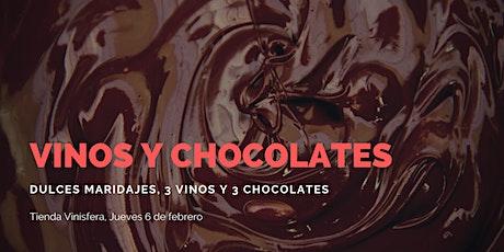 Maridaje, Vinos y Chocolates Mexicanos boletos