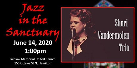Jazz in the Sanctuary with the Shari Vandermolen Trio tickets