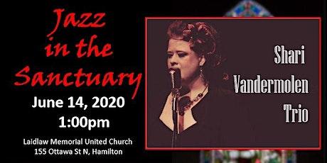 Jazz in the Sanctuary with the Shari Vandermolen Trio tickets