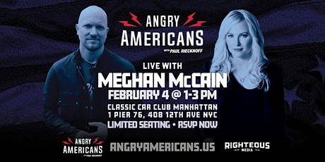 Feb 4 Angry Americans with Paul Rieckhoff LIVE with Meghan McCain tickets