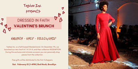 Dressed in Faith Valentine's Brunch tickets