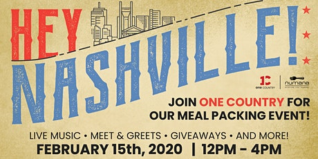 One Country Give: Nashville Food Packing Event tickets