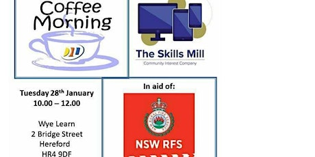 Coffee Morning in aid of New South Wales Rural Fire Service tickets