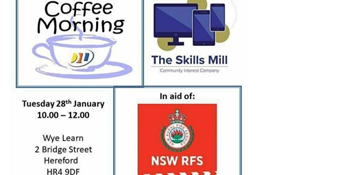 Coffee Morning in aid of New South Wales Rural Fire Service