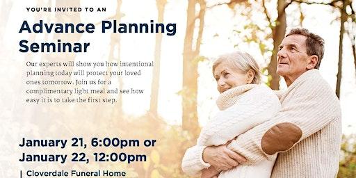 Advanced Planning Seminar