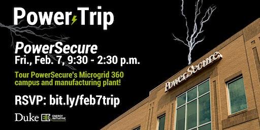 DUEI Power Trip: PowerSecure, Friday, Feb. 7