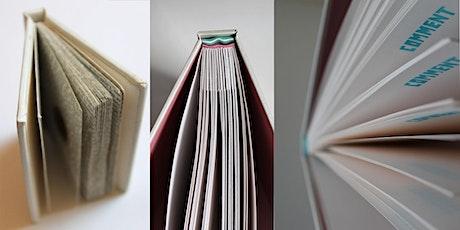 Hard back book workshop tickets