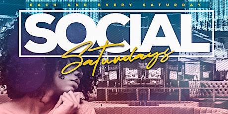 SOCIAL SATURDAYS tickets