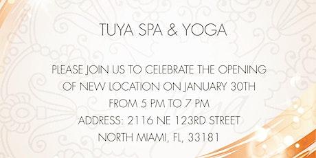 Grand opening Tuya Spa&Yoga  tickets