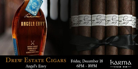 KARMA DECEMBER EVENT || DREW ESTATE + ANGEL'S ENVY SMALL BATCH WHISKEY tickets