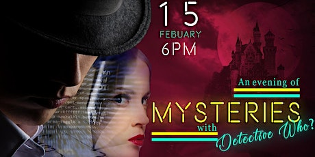 An Evening of Mysteries with Detective Who? tickets
