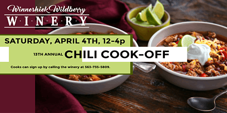 13th Annual Chili Cook-off tickets