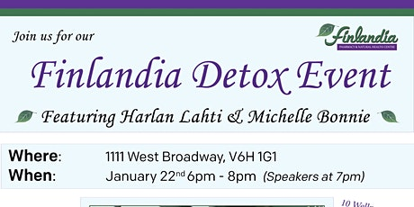 Finlandia Detox Event tickets