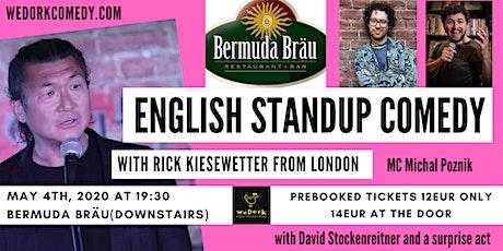 Bermuda Bräu English comedy from London Tickets
