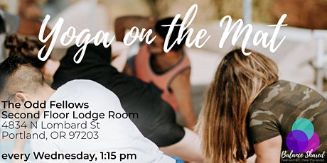Yoga on the Mat tickets
