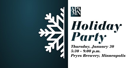 APA MN Holiday Party tickets