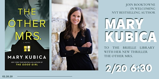 Meet Author Mary Kubica at the Brielle Library!