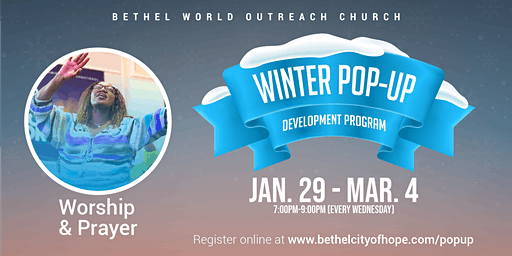 Winter Pop-Up Series-Discovering Worship