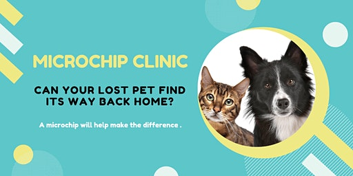 $25 Microchip Clinic for Cats & Dogs