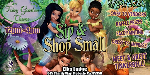 Sip & Shop With Tinkerbell